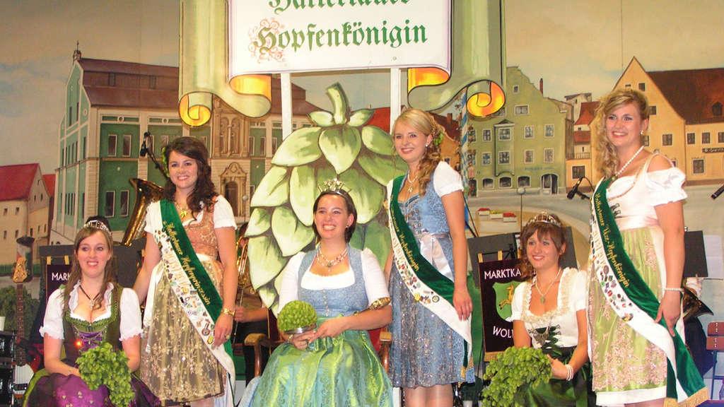 Hallertauer Hopfenkönigin