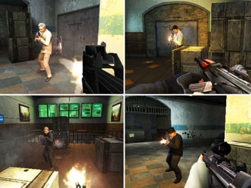 Screenshots aus GoldenEye 007