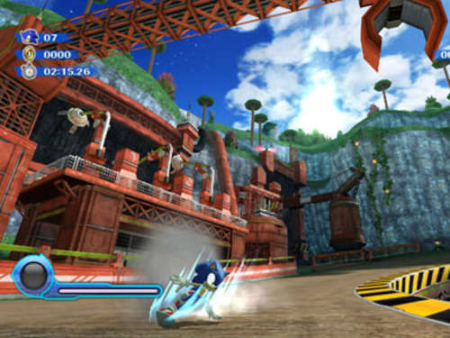 Screenshots aus Sonic Colours