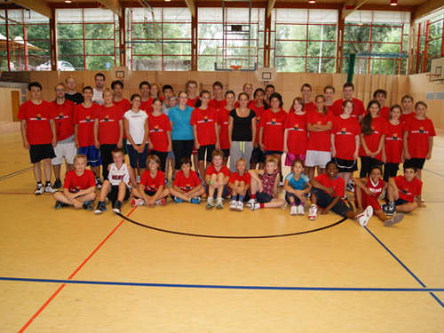 Basketball Sommer Camp 2012