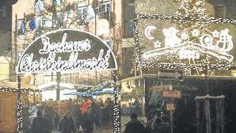 Dachau Weihnachtsmarkt.Christkindlmarkt Dachauer Altstadt Eroffnung Dachau