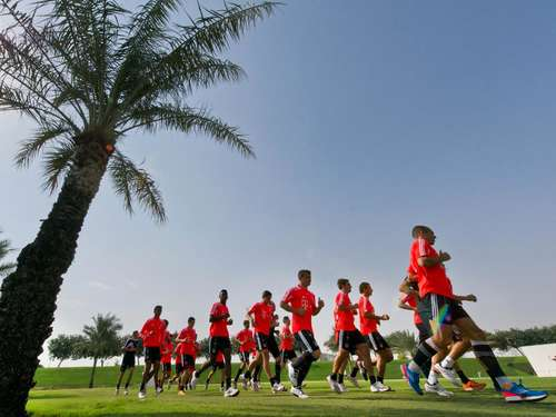 1000-km-Abstecher im Trainingslager