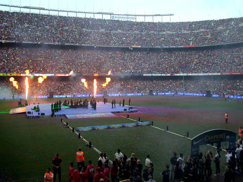 Camp Nou in Barcelona hat bald 105.000 Plätze
