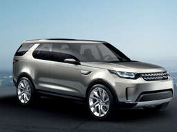 So smart! Land Rover Discovery Vision Concept