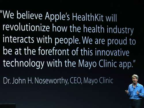 Apples HealthKit verärgert gleichnamiges Start-up
