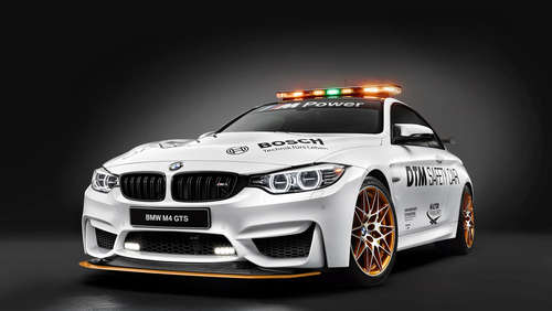 BMW M4 GTS Safety Car mit 500 PS