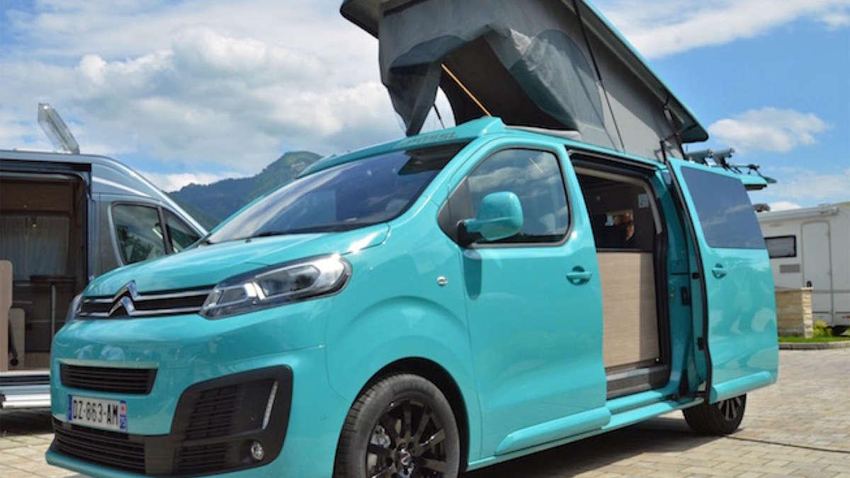der campster von p ssel reisemobil feiert deb t auf dem caravan salon 2016 citro n. Black Bedroom Furniture Sets. Home Design Ideas