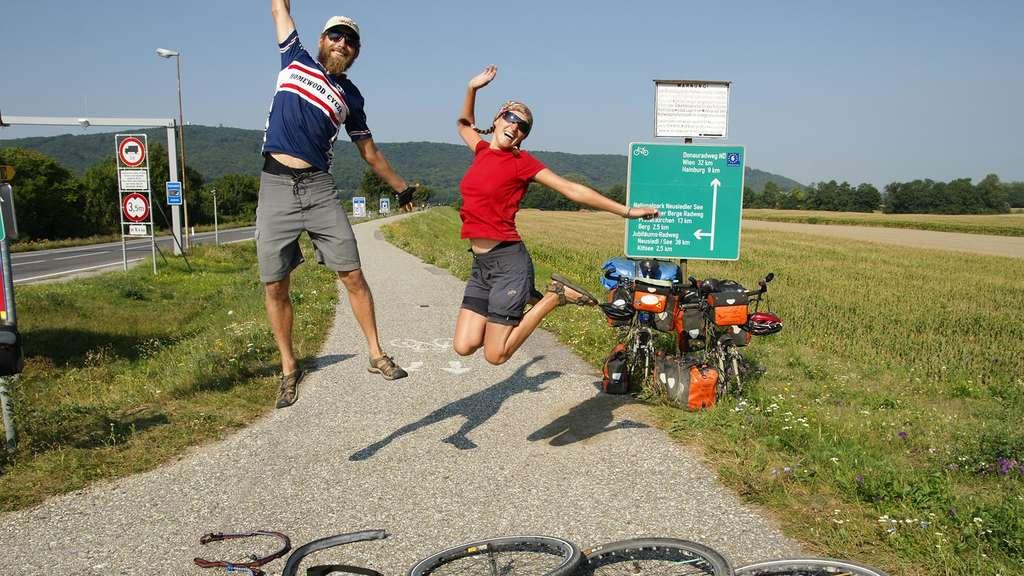 Zwei Steyrer fuhren mit dem Fahrrad um die Welt und teilen nun ihre ...