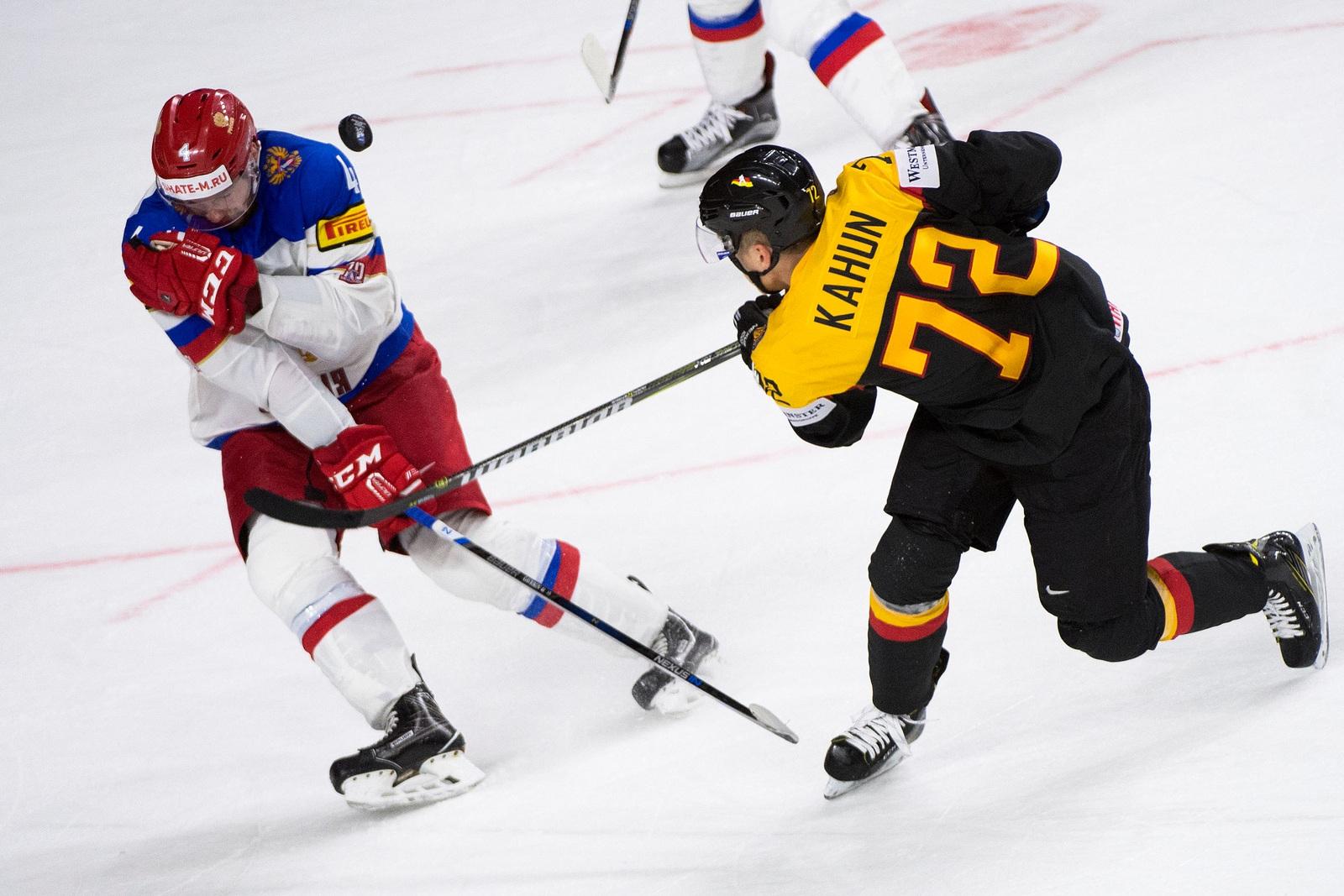 eishockey deutschland gegen russland