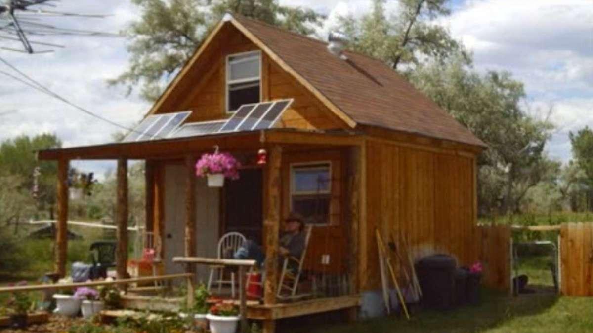 wie sich ein mann mit 1800 euro sein traumhaus baute eigenheim hausbau. Black Bedroom Furniture Sets. Home Design Ideas