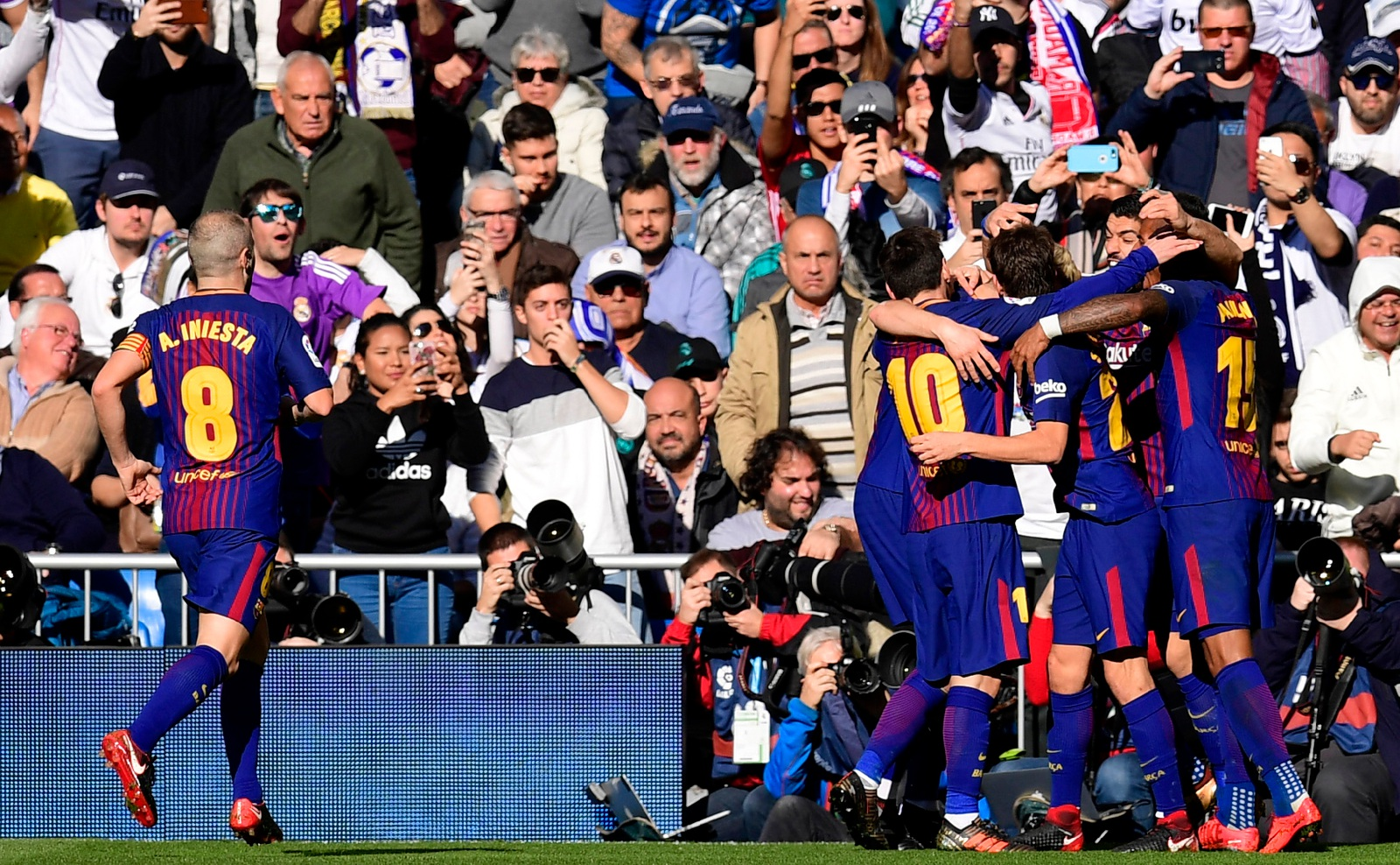barcelona madrid live