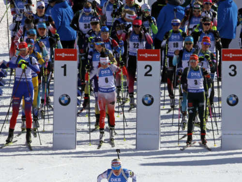Biathlon-WM: Norwegen gewinnt Single-Mixed-Staffel - Deutsches Duo verpasst Podium