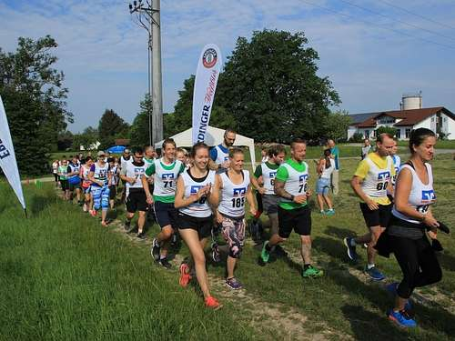 Crosslauf in Forstern am 2. Juni 2019