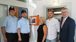Mobiler Defibrillator in VR-Bank Moosen