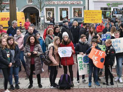 "Nächste Runde für ""Fridays for Future"" in Erding"