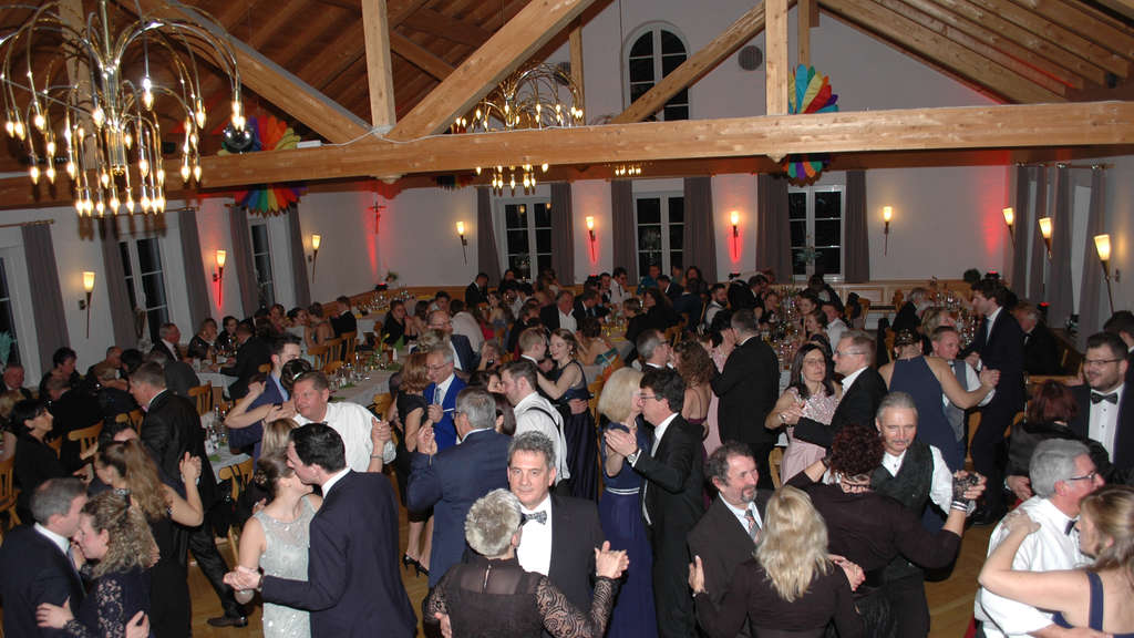 Traditioneller Metzgerball in Ried