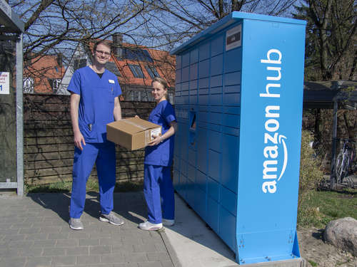 Neue Amazon-Station am Klinikum Dachau