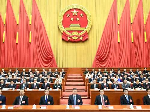 Chinas Volkskongress startet am 22. Mai