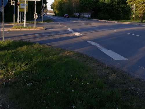 Neues Verkehrsmodell in Poing