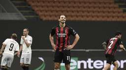 Milans Superstar Ibrahimovic hat gut lachen