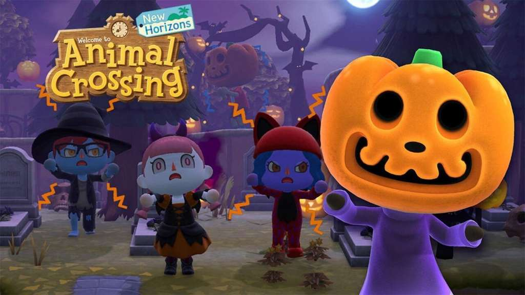 Animal Crossing New Horizons Halloween