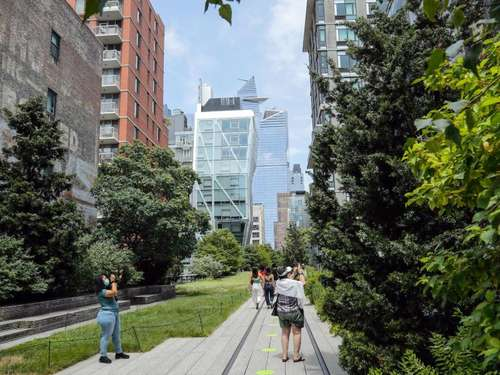 New York will High Line in Manhattan erweitern