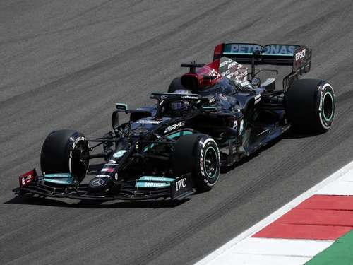 Portugal-Quali: Hamilton steuert 100. Pole Position an